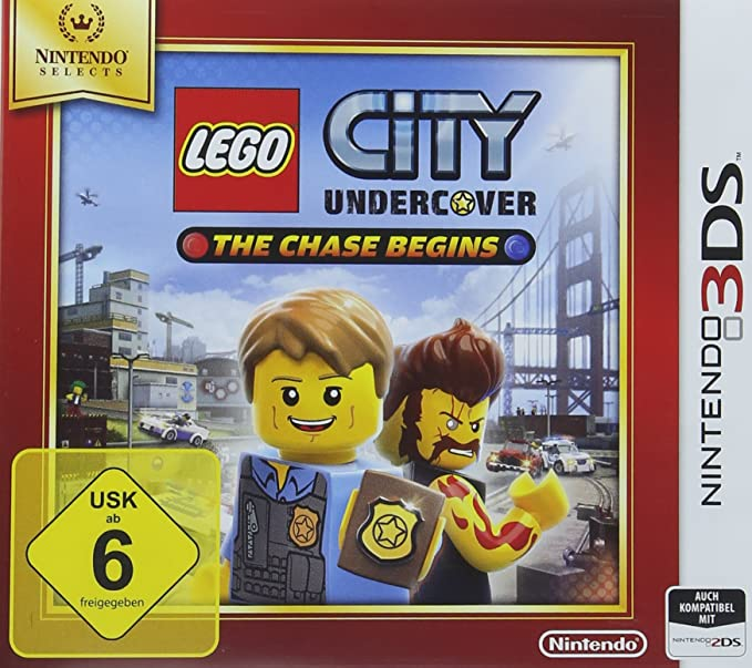 Lego City Undercover: The Chase Begins - Nintendo Selects [Importación Alemana]: Amazon.es: Videojuegos