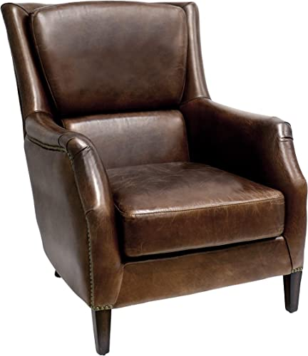 Pasargad Home Vicenza Collection Wing Chair