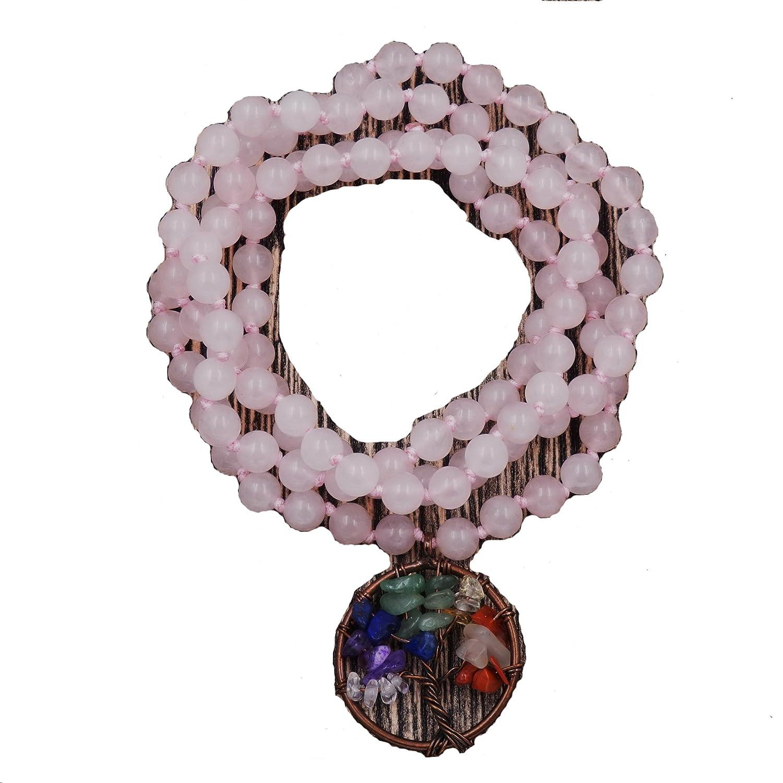 Mala Beads Bracelet, Buddhist Prayer Beads bracelet,hand knotted mala bracelet Malahill M003