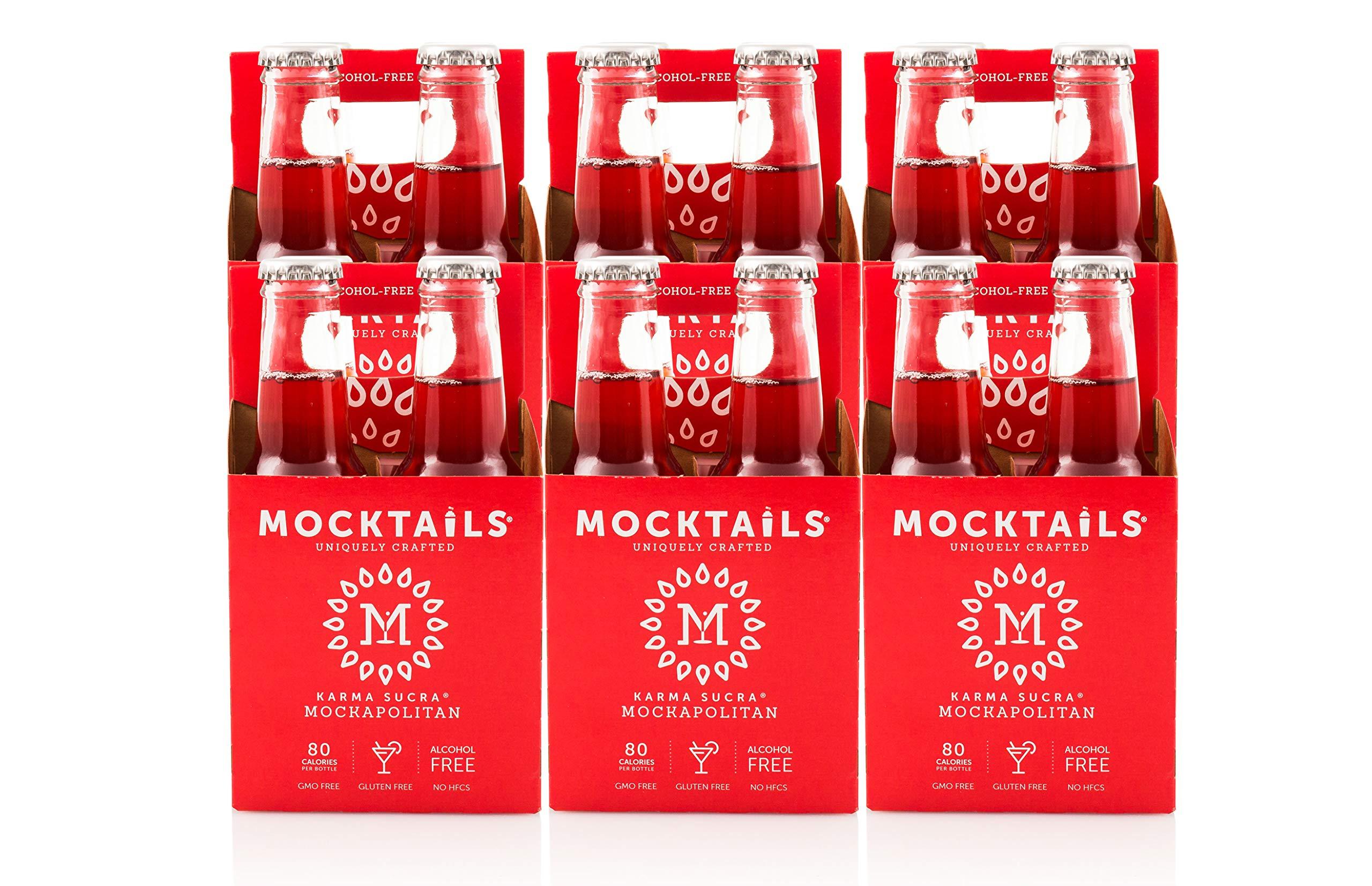 Mocktails Uniquely Crafted Alcohol Free Karma Sucra Mockapolitan, 6.8 fl. oz. (Pack of 24)