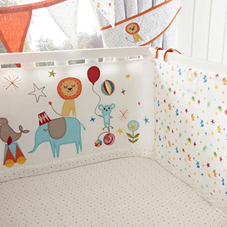 Debenhams bluezoo kids white circus print cot bed bumper bluezoo debenhams bluezoo kids white circus print cot bed bumper gumiabroncs Image collections