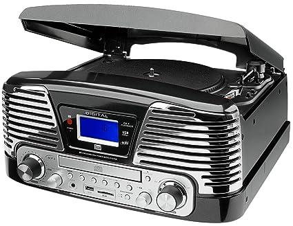 Dual NR 6 - Tocadiscos para equipo de audio (Radio, USB, pantalla ...