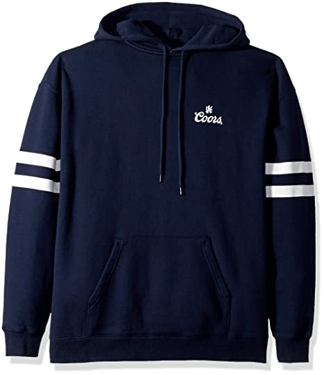 d07085200af Amazon.com  Brixton Men s Coors Cask Hood Fleece