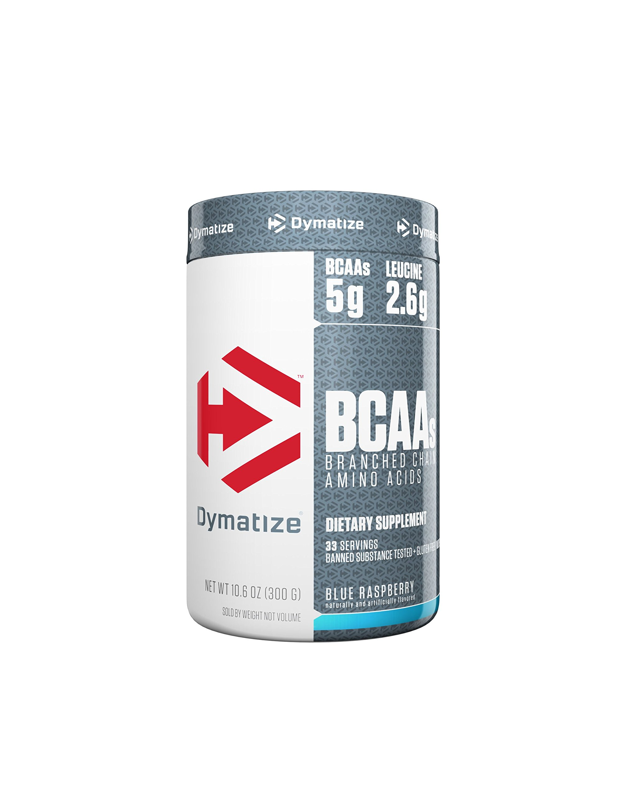 Dymatize BCAA Complex 5050 Powder, Promotes Muscle Regeneration, Time Released Aminos, Blue Raspberry, 10.6 Oz by Dymatize