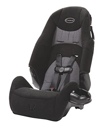 Amazon Cosco High Back Booster Car Seat Black Tissage