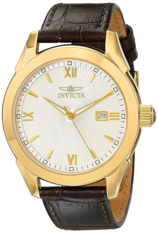 [インヴィクタ]Invicta 腕時計 Specialty Analog Display Swiss Quartz Brown Watch 18116 メンズ [並行輸入品] B00XHTKTGG