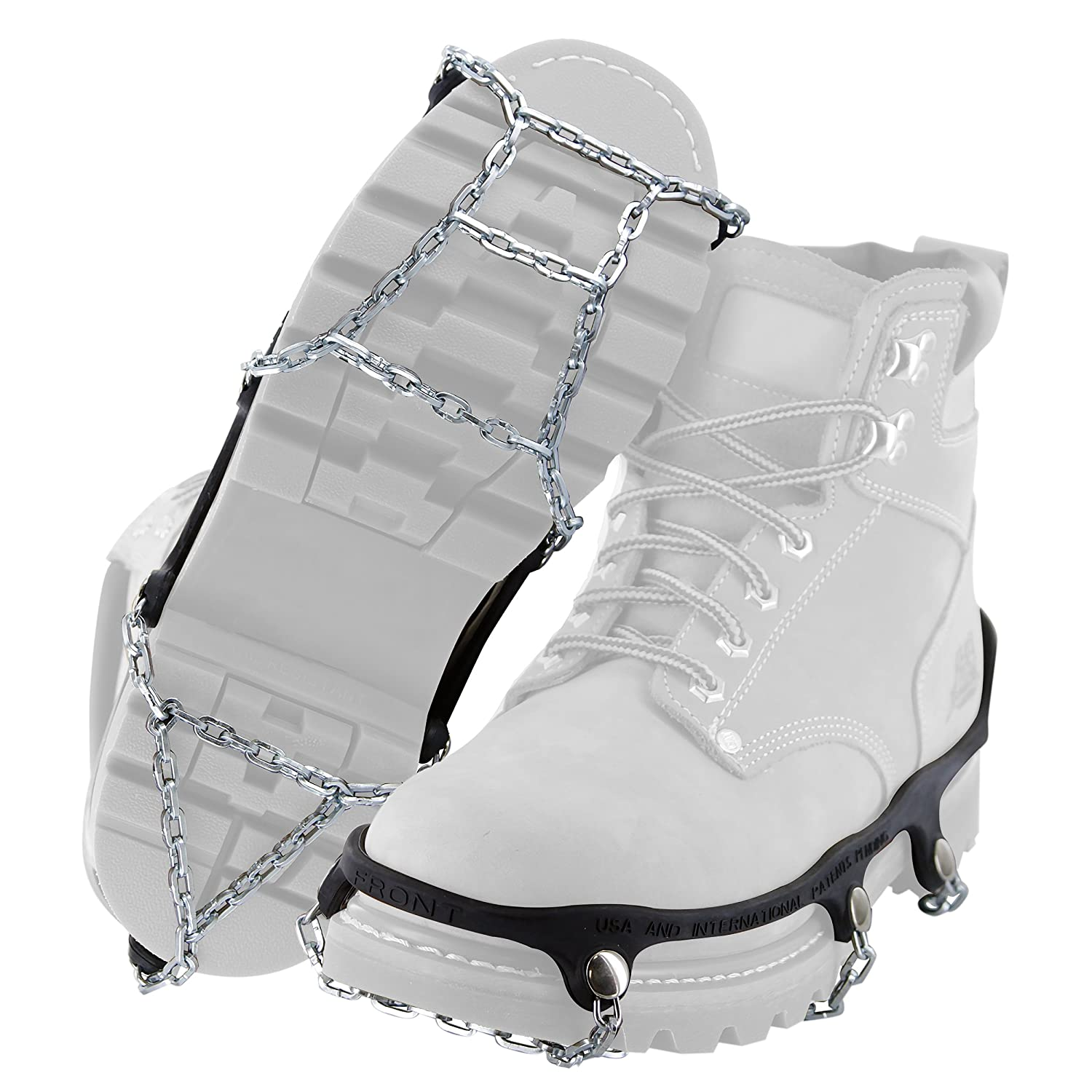 Yaktrax Traction Chains for Walking on Ice and Snow Pair