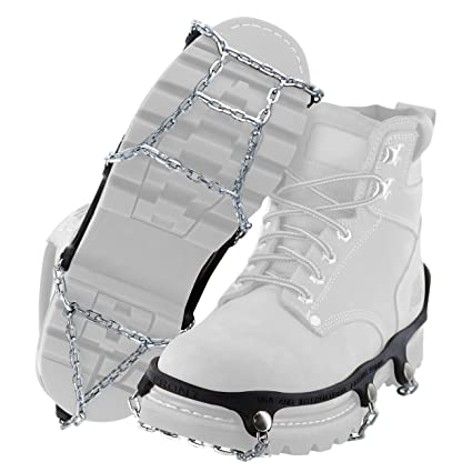 amazon com yaktrax traction chains for walking on ice and snow
