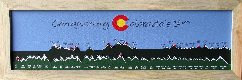 homemagnetics conquering colorado s 14ers graphic art