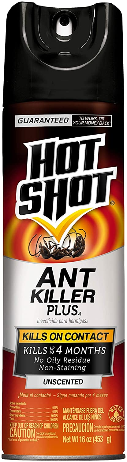 Hot Shot HG-4480 4480 16 oz Ant Killer Plus Aerosol, Pack of 1, unknown