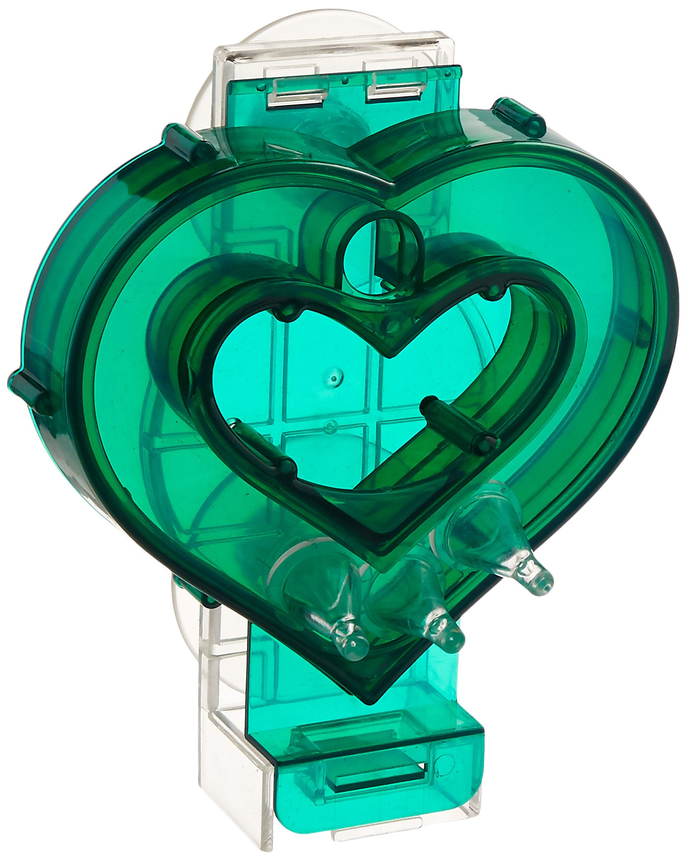 Creative Foraging Systems+E487 Mastermind Heart Pet Feeder, 7 by 8 by 3-Inch by Creative Foraging Systems+E487