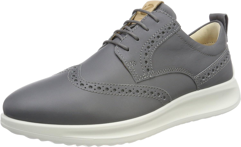 ECCO Vitrus Aquet, Zapatos de Cordones Brogue para Hombre