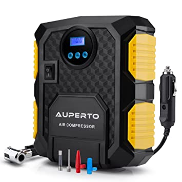 Amazon digital tire inflator auperto electric dc 12 volt digital tire inflator auperto electric dc 12 volt car portable air compressor pump 150 sciox Images