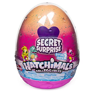 Hatchimals CollEGGtibles, Secret Surprise Playset with 3 (Styles May Vary): Toys & Games