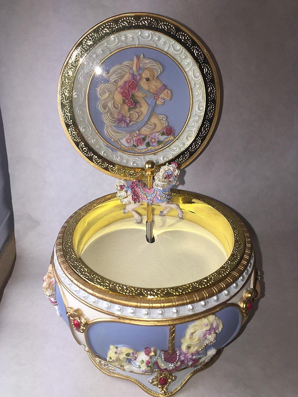 2019新作モデル Beautiful Carousel Horse Hinged Trinket Box by Size by Color San Francisco Music Box (並行輸入品) B07DQC8365 One Color One Size, イベント企画:6301377f --- arcego.dominiotemporario.com