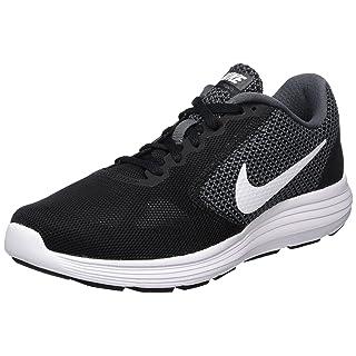 NIKE Women's Revolution 3 Running Shoe, Dark Grey/White/Black, 7 B(M) US