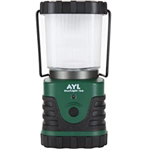 AYL Starlight 700 - Water Resistant - Shock Proof - Long Lasting Up to 6 Days Straight - 700 Lumens Ultra Bright LED Lantern - Perfect Lantern for Hiking, Camping, Emergencies, Hurricanes, Outages