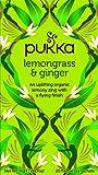 Pukka Lemongrass & Ginger, Organic Herbal Tea (4 Pack, 80 Tea bags)
