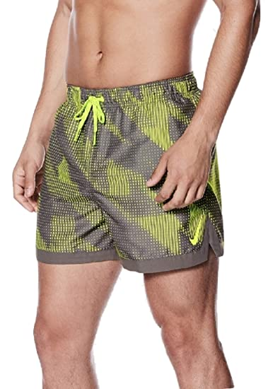 3a042a7a90ffd Nike Men's Swimming Shorts Grey Grey: Amazon.co.uk: Clothing