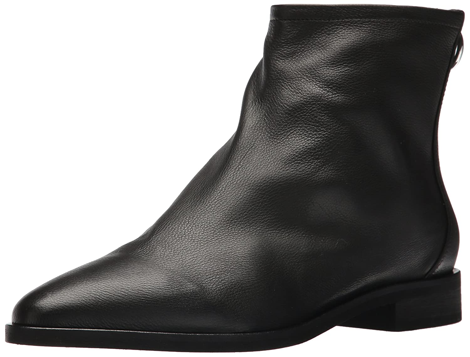 Via Spiga Women's Edie Ankle Boot B074CYKTSV 9 B(M) US|Black Leather