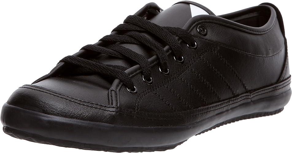 métrico Excursión Nube  adidas Originals Men's Nizza Lo Remo Trainers Black Size: 8 UK:  Amazon.co.uk: Shoes & Bags