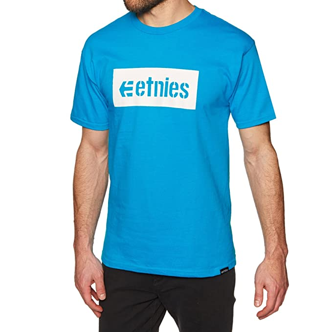 etnies Corp Box' Tee. Turquoise. 276Ar