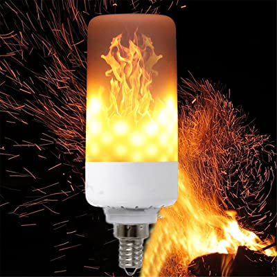 Feu 2200k Lampe 99led E12 1900 Flamme Yaojiaju 3528smd Led Effet y76bfgvY