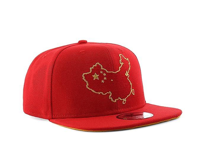Underground Kulture Gorra de béisbol roja del Snapback de China  Amazon.es   Ropa y accesorios 7c1a54d8b2c