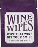 "True Wine Wipes Single Packs (12 Individual Pack), 2"", White - Wine Stain Removing Wipes"