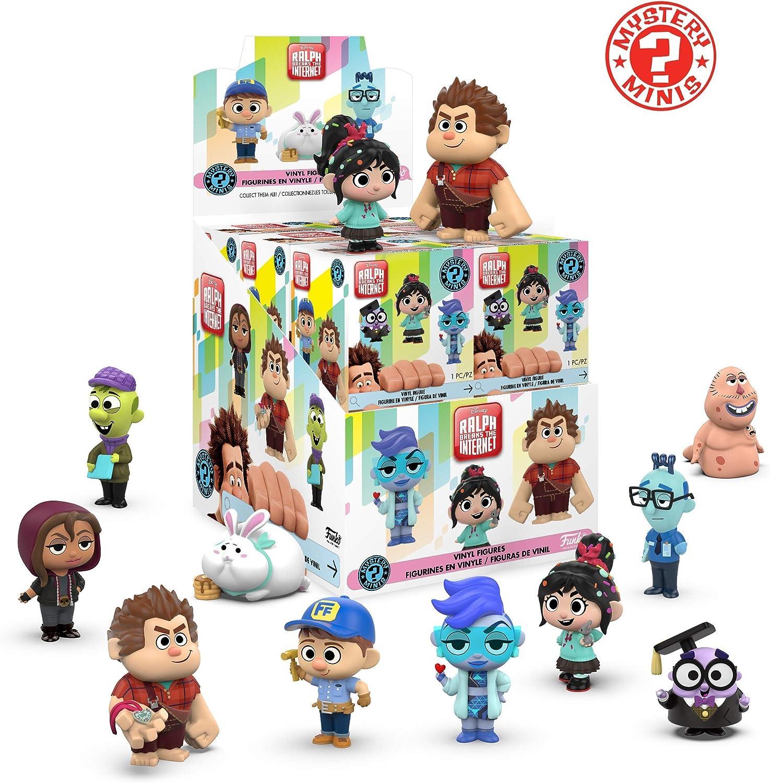 Funko mini Disney mystery minis wreck it ralph 2, multicolor (33427) , color/modelo surtido: Amazon.es: Juguetes y juegos