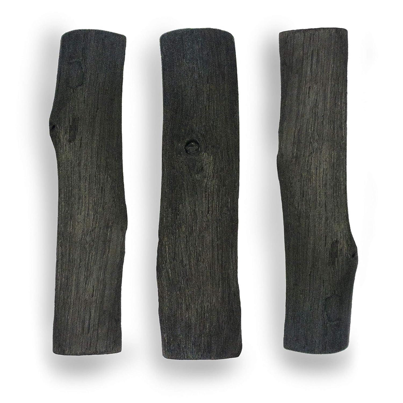 Naturel BROU B/âton Filtre /à Eau au Charbon de Bois biod/égradable de premi/ère qualit/é Noir 1 Respectueux de lenvironnement Plastique Gratuit |