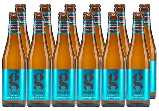 Greens premium pilsner gluten free beer 12 x 300 ml amazon greens premium pilsner gluten free beer 12 x 300 ml negle Images