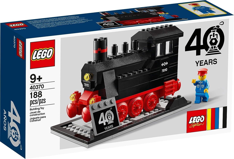 LEGO Locomotora Conmemorativa 40 AÑOS Trenes