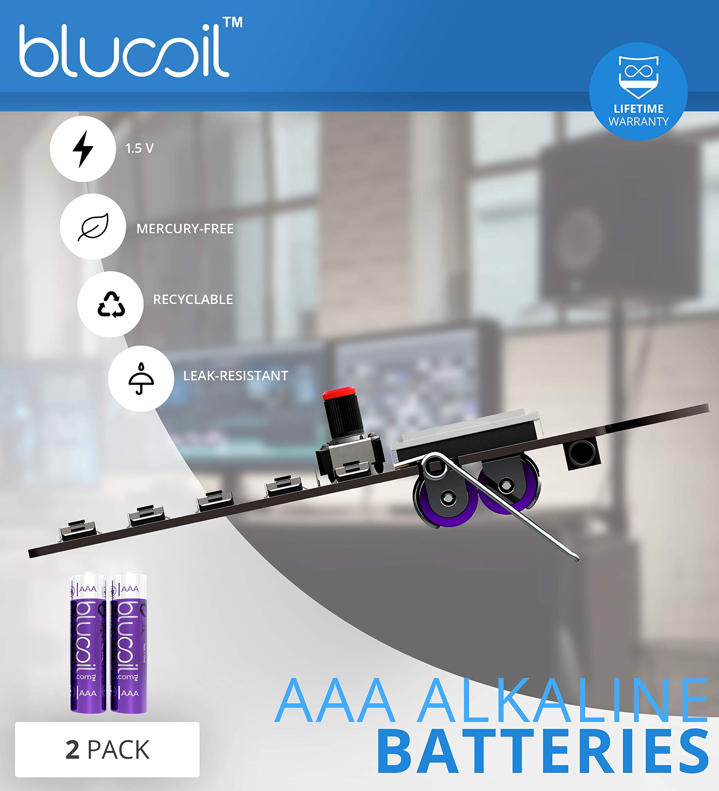 Teenage Engineering PO-28 Robot Pocket Operator, Sounds, Patterns & Effects Synthesizer & Sequencer Bundle with CA-28 Silicone Case, Blucoil 6-FT Headphone Extension Cable (3.5mm) & 2 AAA Batteries by blucoil (Image #9)