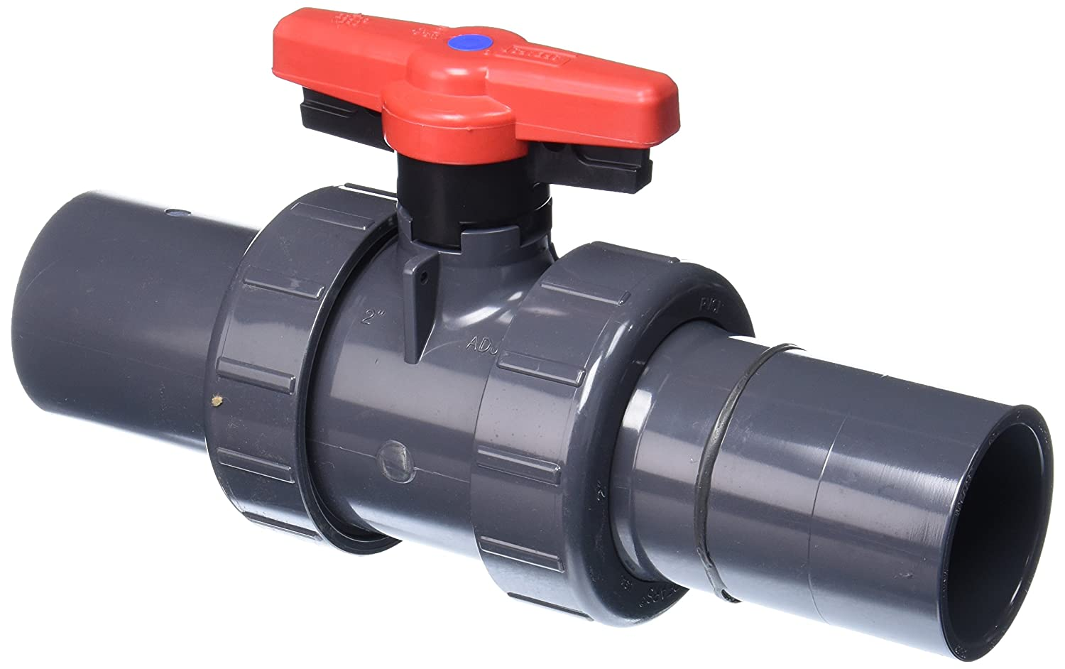 Spears 1832RS-020 PVC Schedule 80 Industrial Retrofit Ball Valves