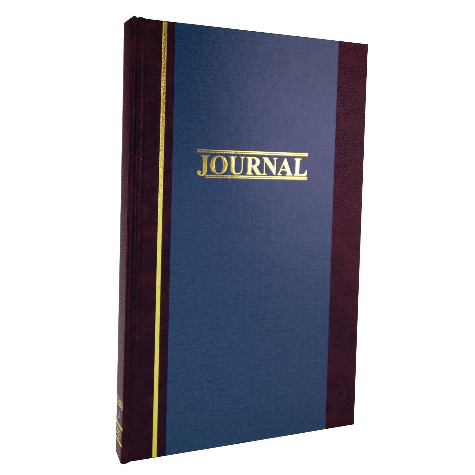 Wilson Jones Account Journal, 11-3/4'' x 7-1/4'', Ruled, 300 Pages, 33 Lines, 2 Column, S300 (WS300-3JA) by Wilson Jones