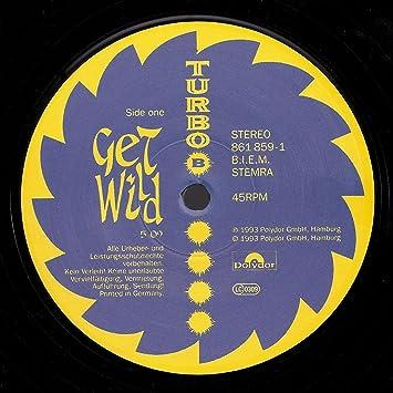 Get wild/Maniac (1993) / Vinyl Maxi Single [Vinyl 12