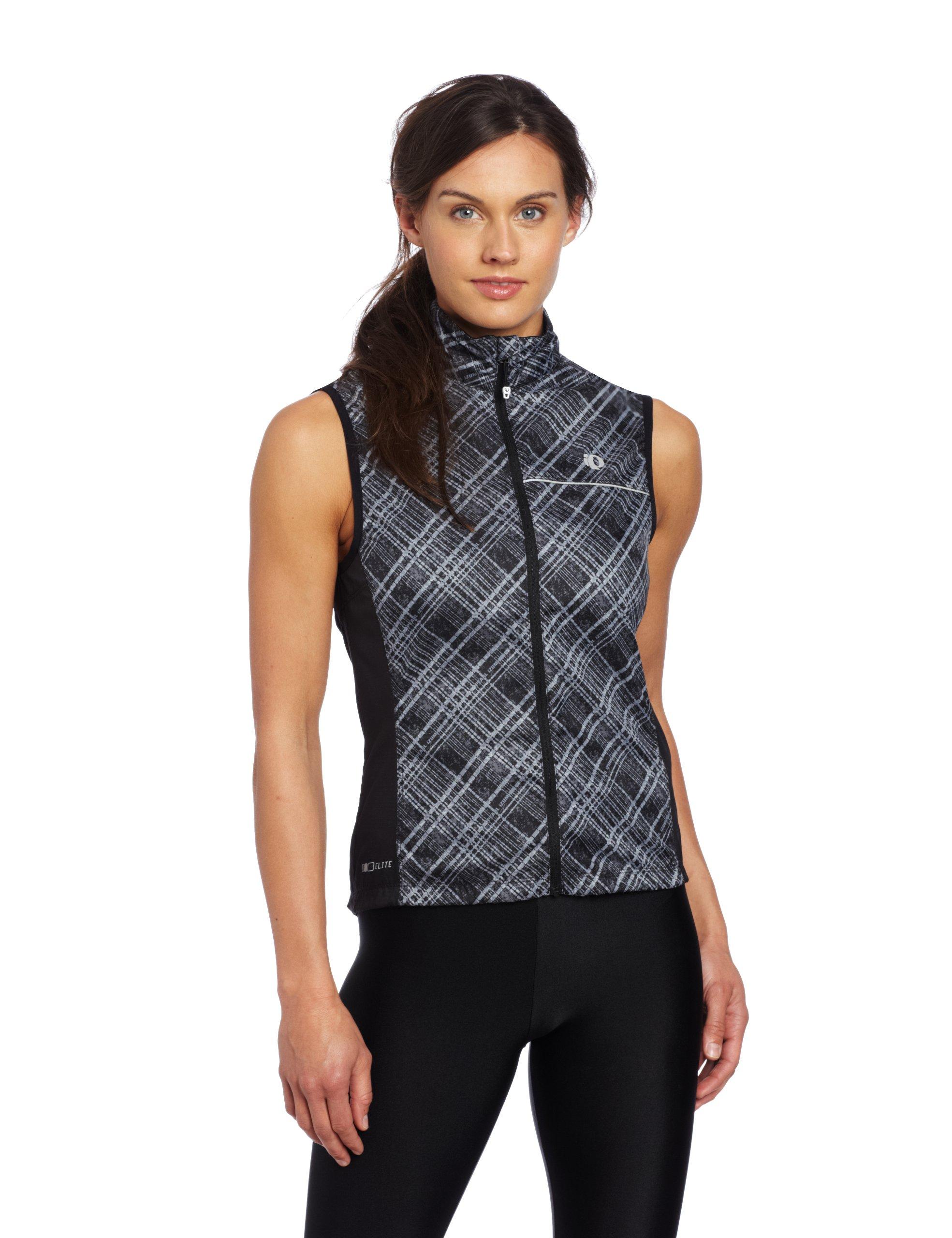 Pearl Izumi 11231301 Womens ELITE Barrier Vest, Samurai Plaid - XS