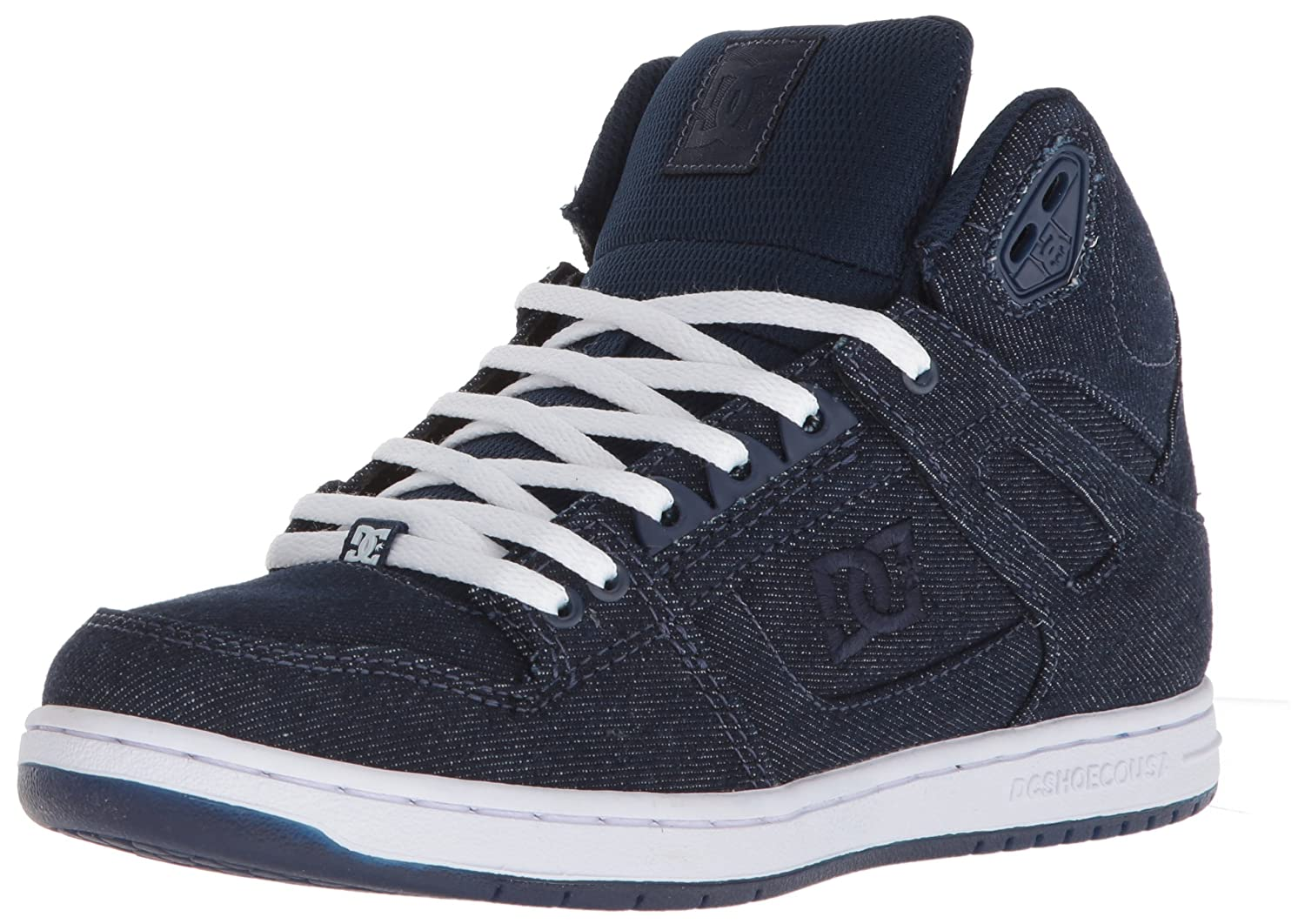 DC Women's Pure High-Top TX SE Skate Shoe B075998QG2 10.5B B US|Navy/Navy