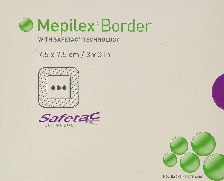 Mepilex Border Self-Adherent Absorbent Foam DressingSize 3 x 3