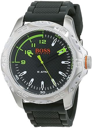 Hugo Boss Orange Reloj Análogo clásico para Hombre de Cuarzo con Correa en Silicona 1550033: Amazon.es: Relojes