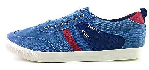 Jhayber Berlin Zapatillas Lona Hombre (40 EU, Azul)
