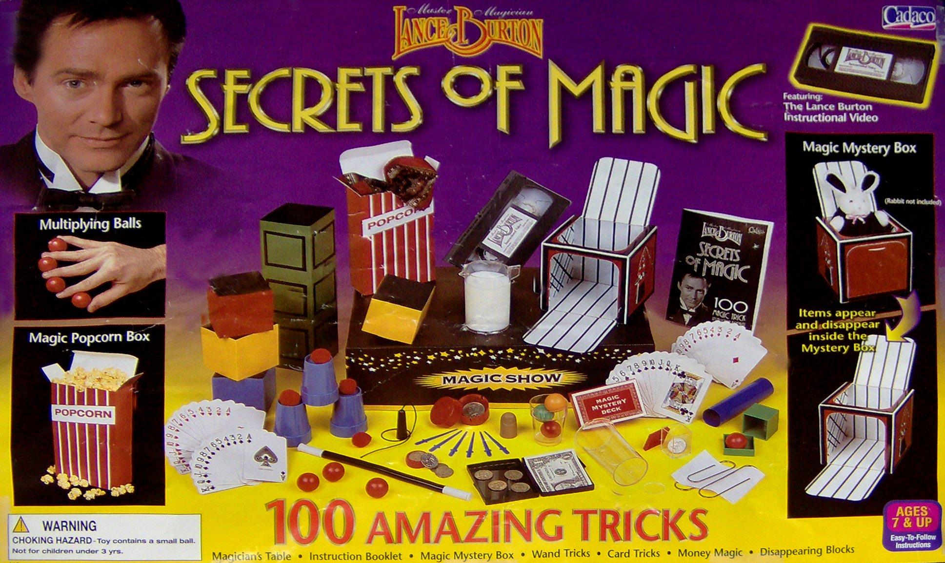 Lance Burton Magic Set: 100 Amazing Tricks