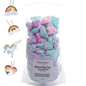 Unicorn Bath Bomb Fizzy Powder Unique Gift For Any Unicorn Or Rainbow Lover Perfect As