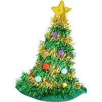 adultos árbol de Navidad Sombrero Con Estrella Novedad