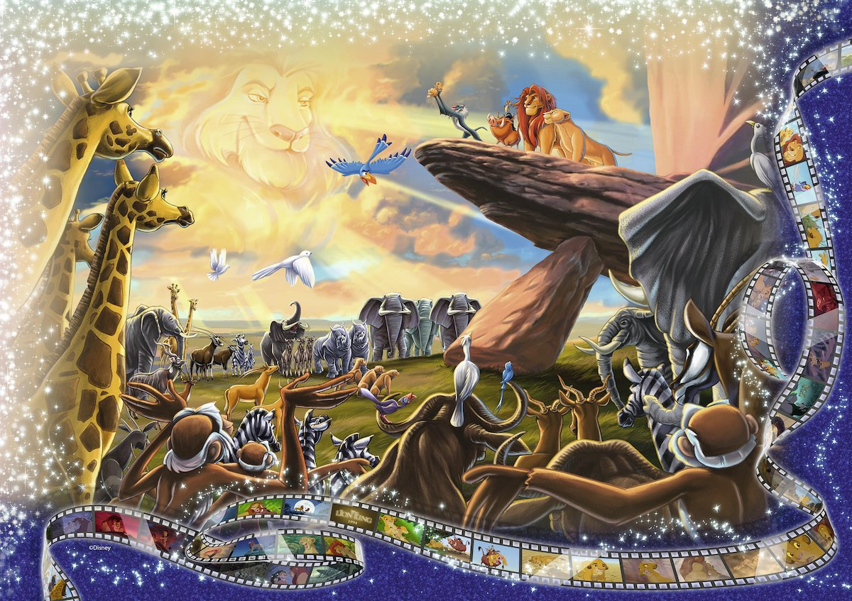 Ravensburger Memorable Disney Moments 40,320 Piece Jigsaw Puzzle The Largest Disney Puzzle in the World 17826