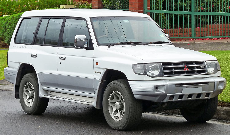 Amazon.com: 1 Pair Rear Tail Light Lamp For Mitsubishi Pajero Montero NL  Wide Body 1998-99: Automotive