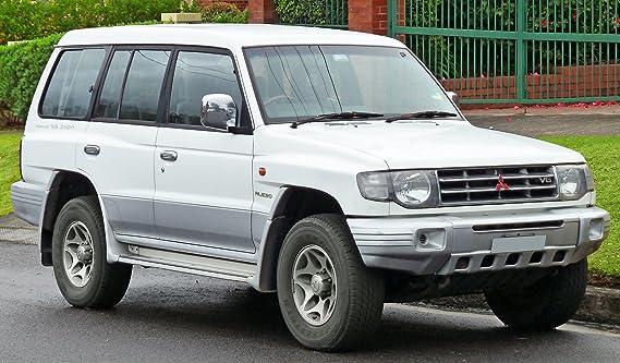 Cromo Trasero Derecho Exterior Manija de puerta para Mitsubishi Pajero Montero NL 1997 - 99: Amazon.es: Coche y moto