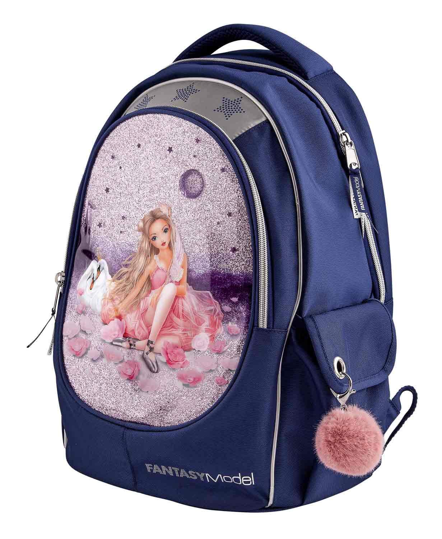 Depesche 10161 Mochila Escolar Fantasy Model Ballet, Gris: Amazon.es: Equipaje