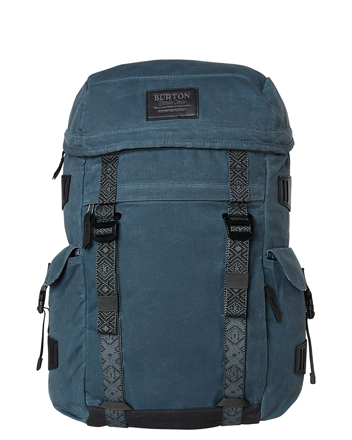2e65cc3f8d0 Amazon.com | Burton Annex Laptop Backpack One Size Dark Slate Waxed Cnv |  Casual Daypacks